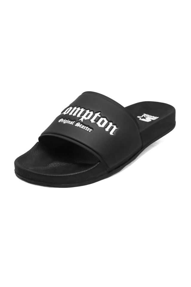 Chinelo-Starter-Slide-on-Compton-Preto