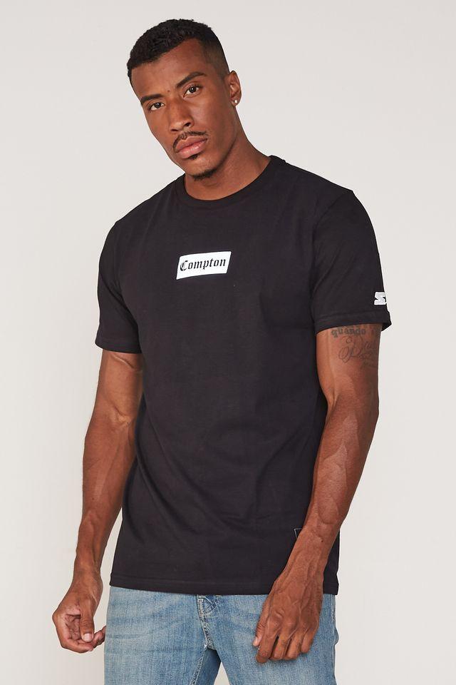 Camiseta-Starter-Especial-Compton-Preta