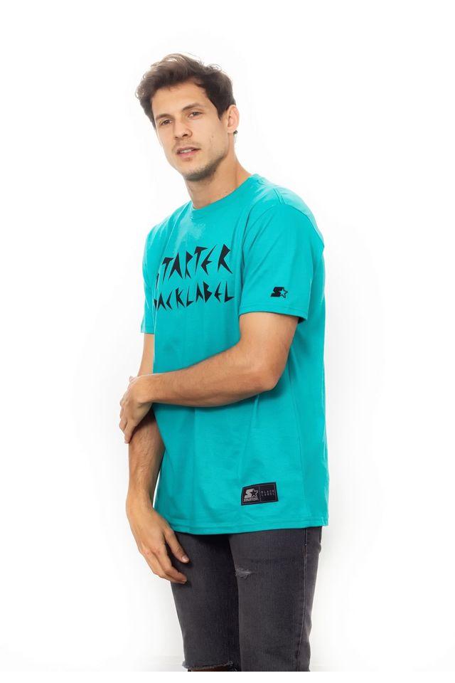 Camiseta-Starter-estampada-crazy-sbl-Verde