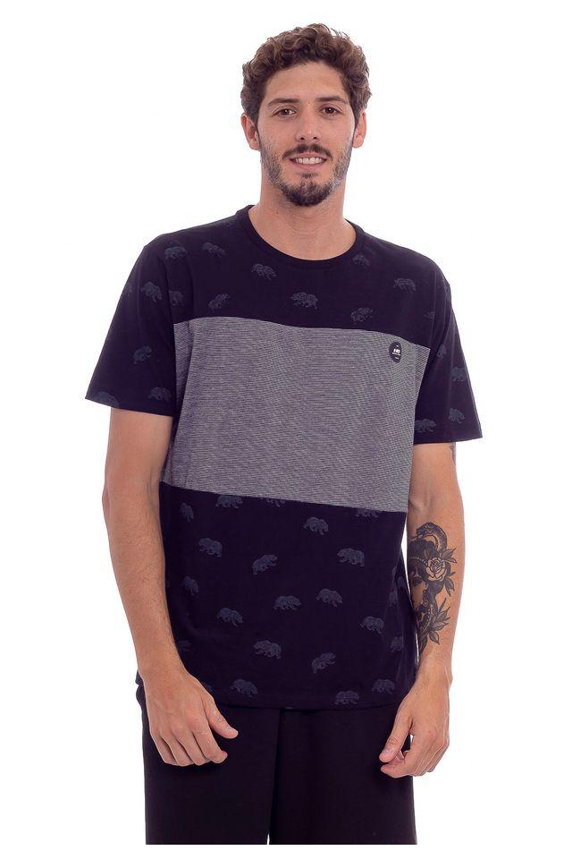 Camiseta-Hawaiian-Dreams-Especial-Bear-Preta