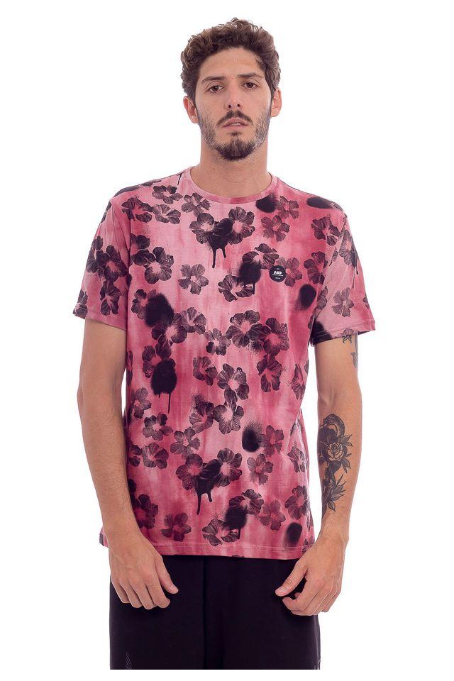 Camiseta-Hawaiian-Dreams-Esp-Dark-Hibiscus-Vermelho-Vermelha