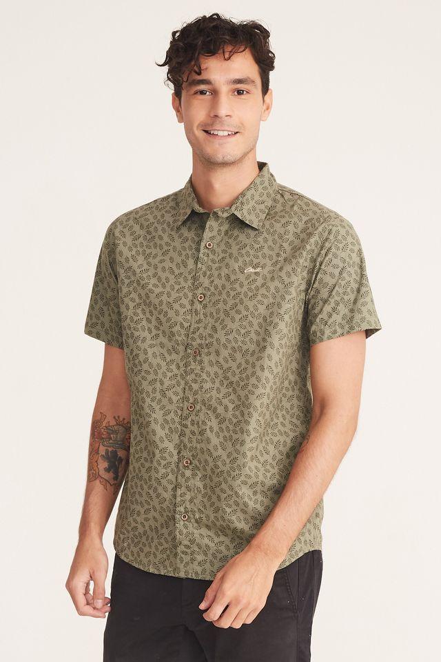 Camisa-Oneill-Manga-Curta-Bege