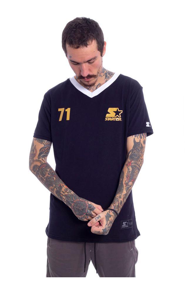 Camiseta-Starter-Estampada-nw-Team-Preta