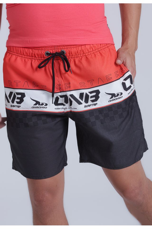 Short-Onbongo-Volley-Laranja