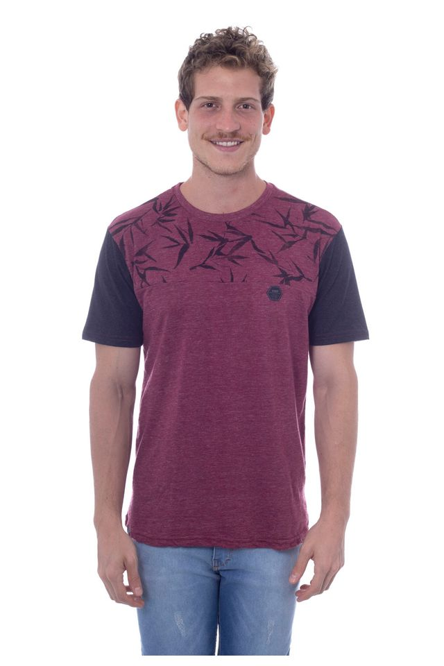 Camiseta-Hawaiian-Dreams-Especial-Bordo-Vinho