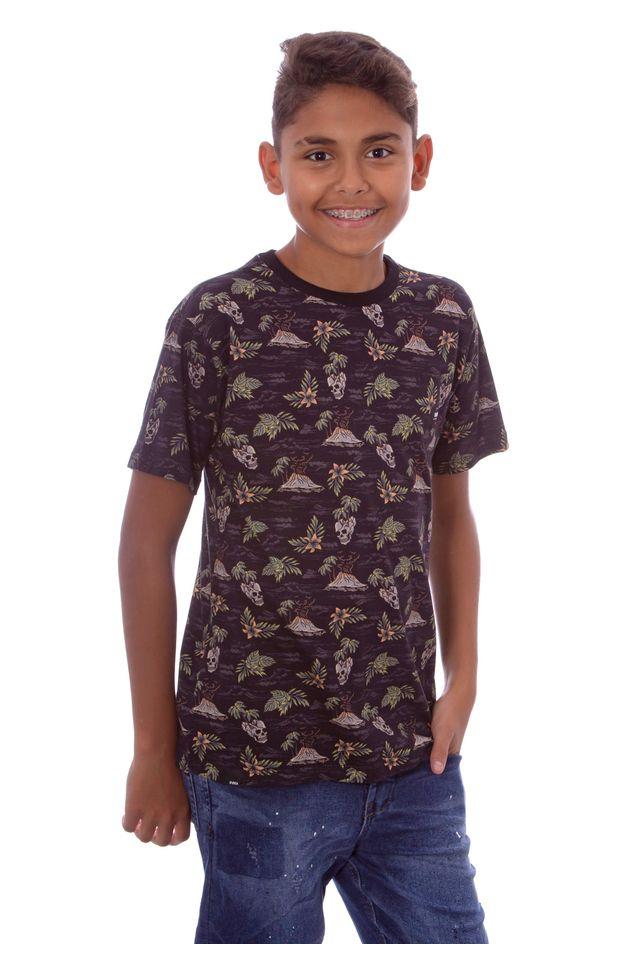 Camiseta-Hawaiian-Dreams-Juvesp-Emisland-Preta