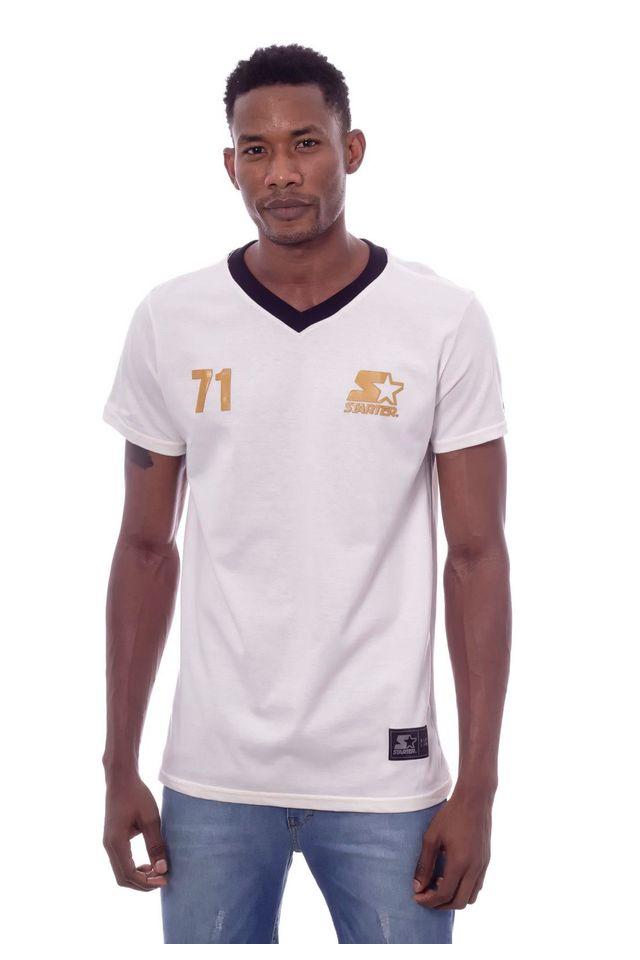 Camiseta-Starter-Gola-v-Estampada-New-Haven-Off-White