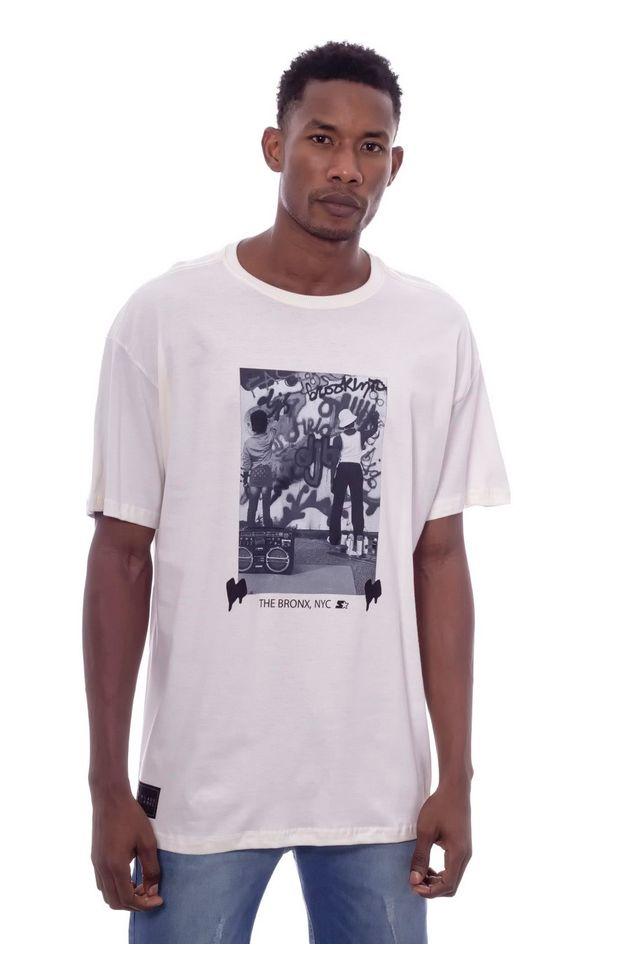Camiseta-Starter-Kids-Bronx-ii-Preta