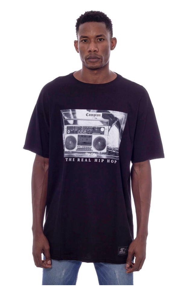 Camiseta-Starter-Estampada-Rap-City-Branca