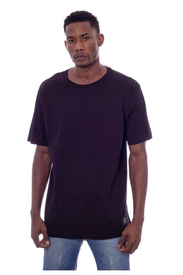 Camiseta-Starter-Ademafia-Estampada-Preta