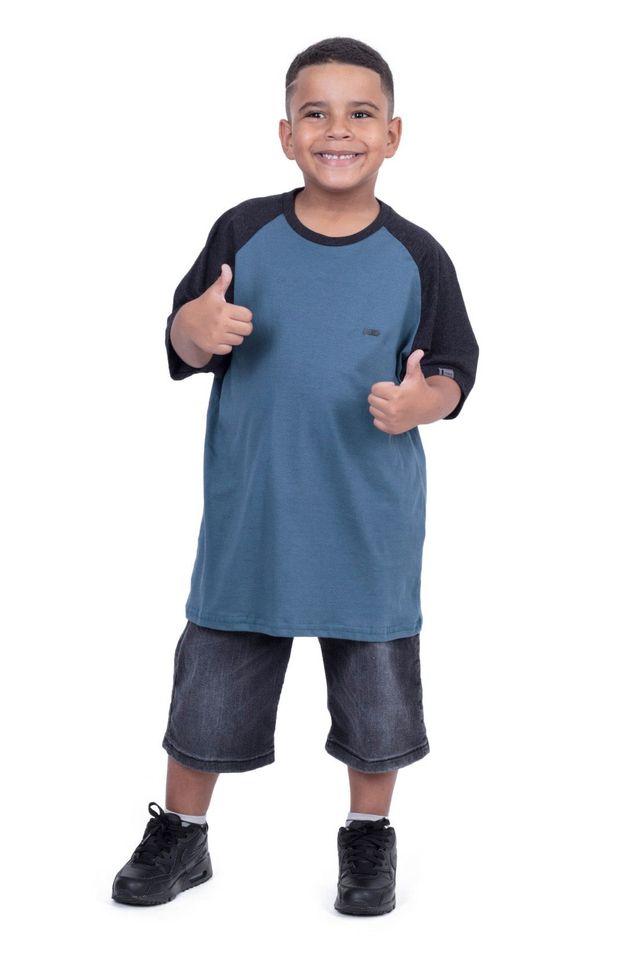 Camiseta-Hawaiian-Dreams-Juvenil-Estampada-Raglan-Minimal-Azul
