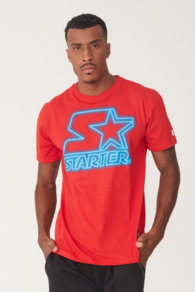 Camiseta-Starter-Estampada-Vermelha