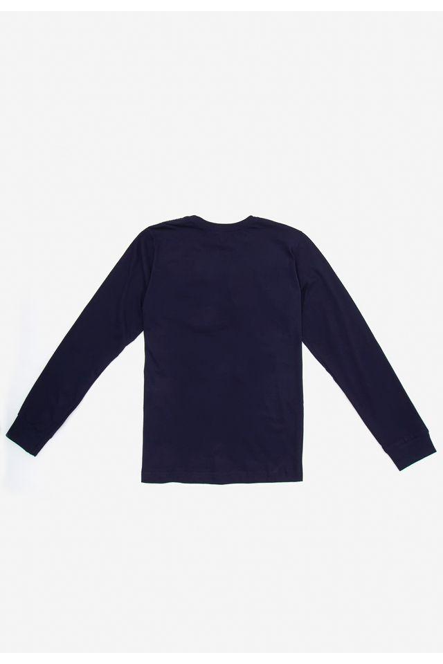 Camiseta-Oneill-Juvenil-Manga-Longa-Estampada-Azul-Marinho