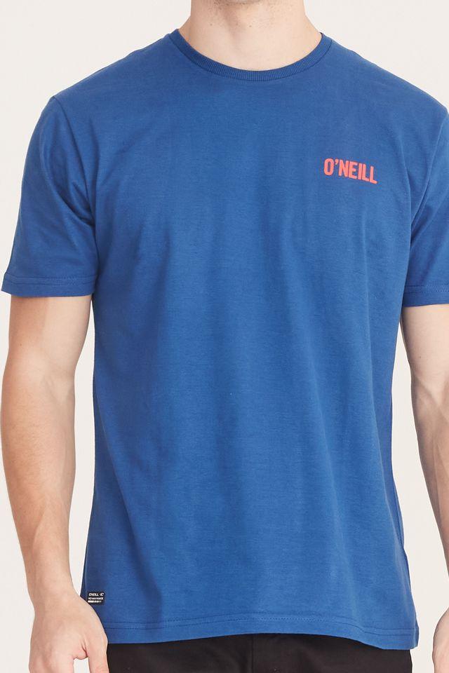 Camiseta-Oneill-Estampada-Azul