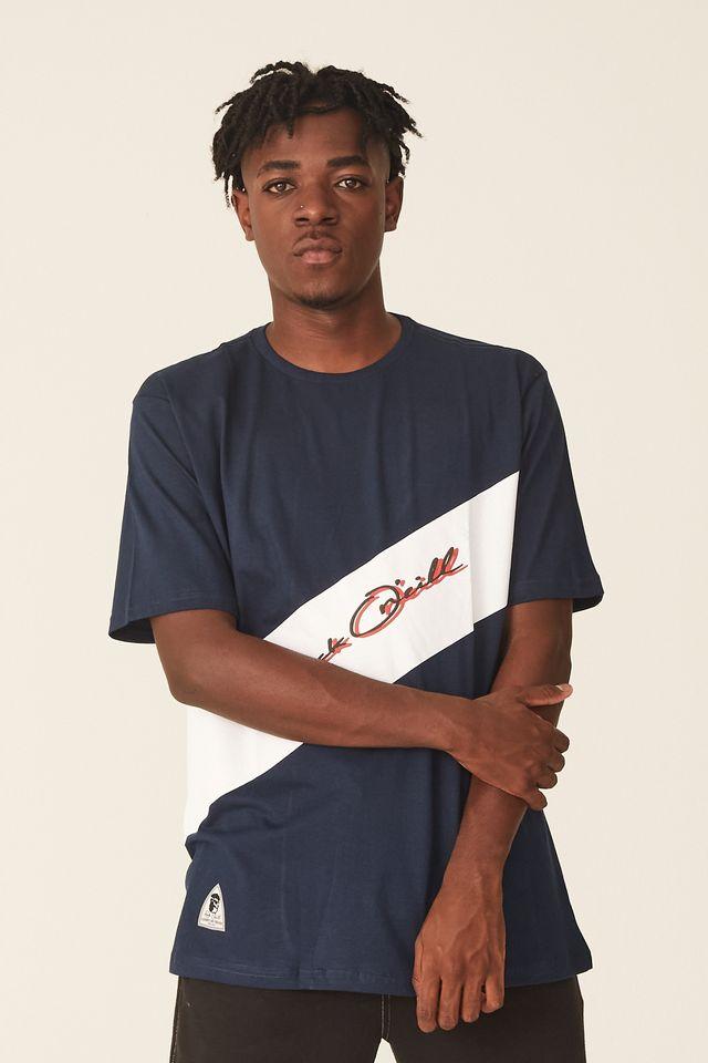Camiseta-Oneill-Estampada-Azul-Marinho