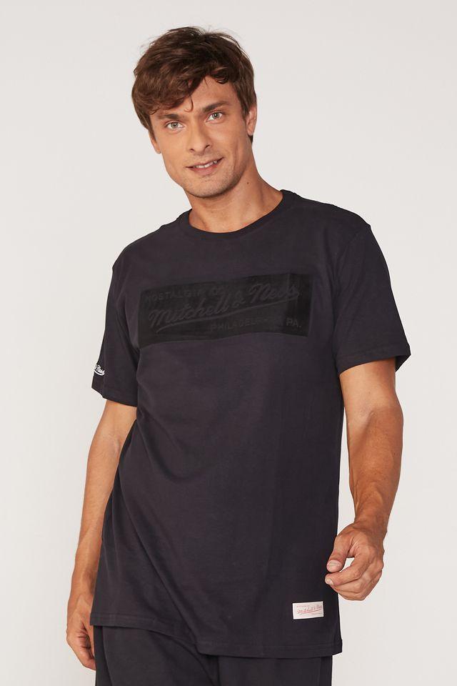 Camiseta-Mitchell---Ness-Estampada-Branded-Box-Suede-Preta
