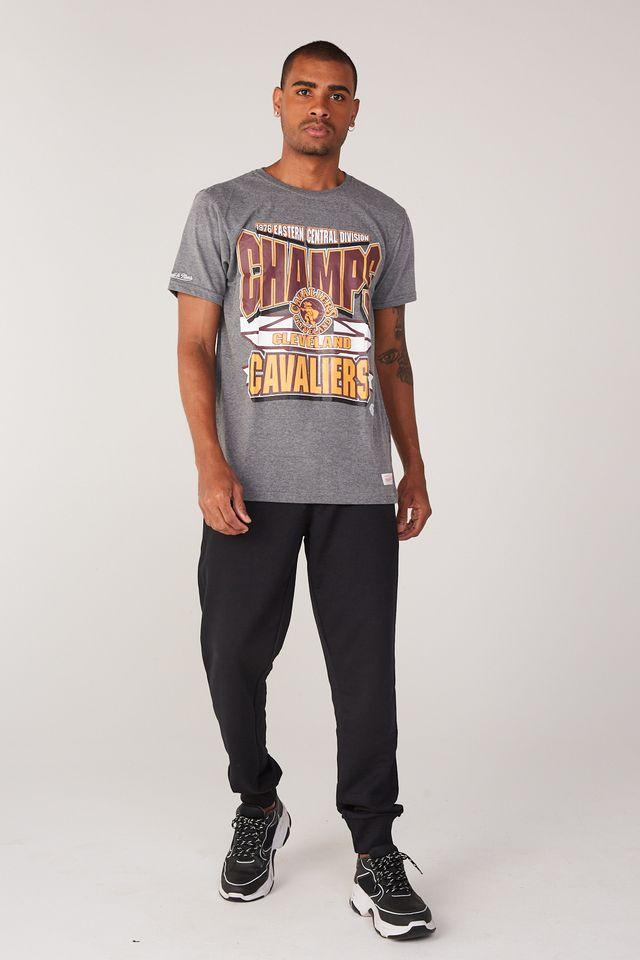 Camiseta-Mitchell---Ness-Estampada-Sportsman-Cleveland-Cavaliers-Cinza