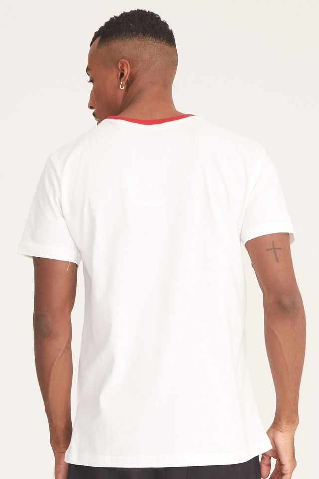 Camiseta-Mitchell---Ness-Estampada-West-and-East-Off-White