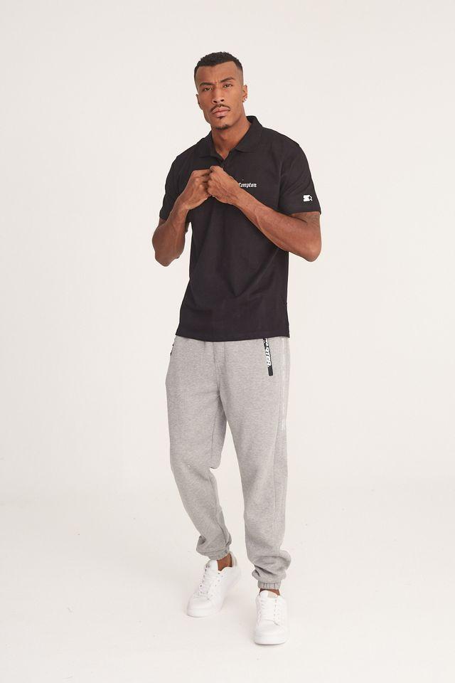 Camisa-Polo-Starter-Manga-Curta-Piquet-Compton-Preta