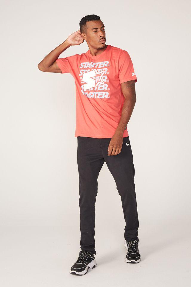 Camiseta-Starter-Estampada-Laranja