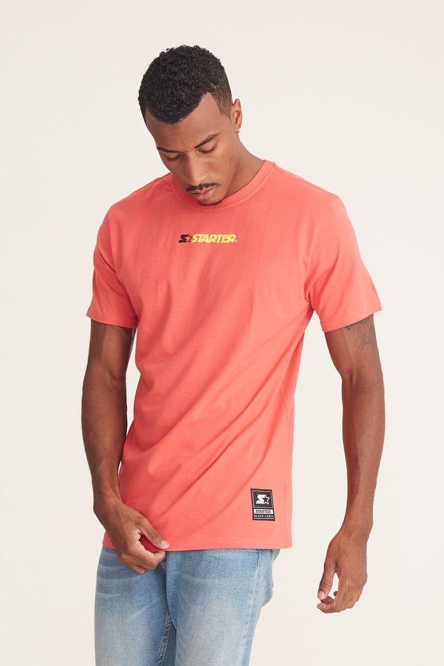 Camiseta-Starter-Basic-Estampada-Laranja