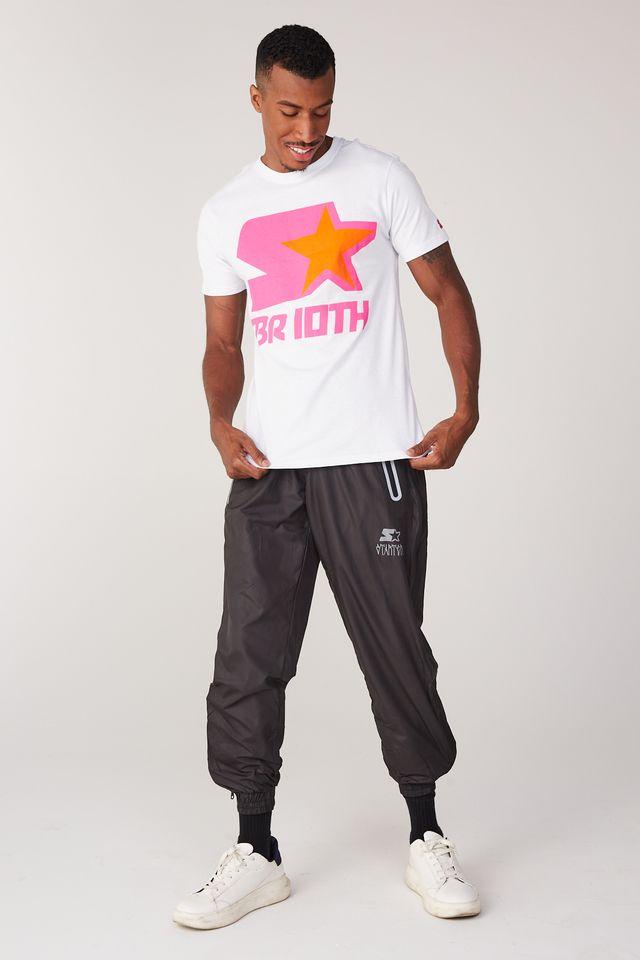 Camiseta-Starter-Estampada-Collab-Sneakersbr-Branca