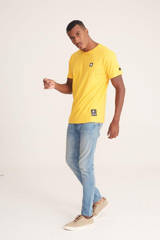 Camiseta-Starter-Basic-Amarela