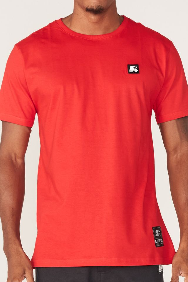Camiseta-Starter-Basic-Vermelha