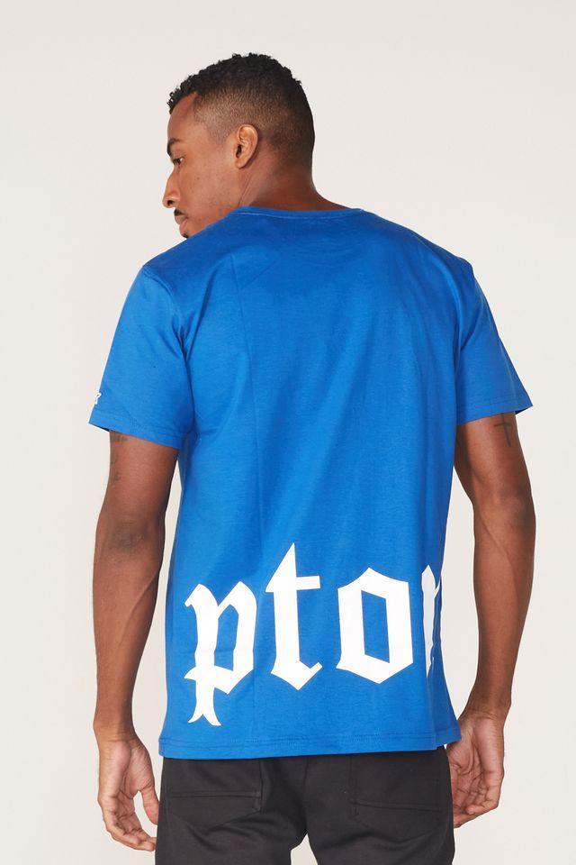 Camiseta-Starter-Estampada-Compton-Azul