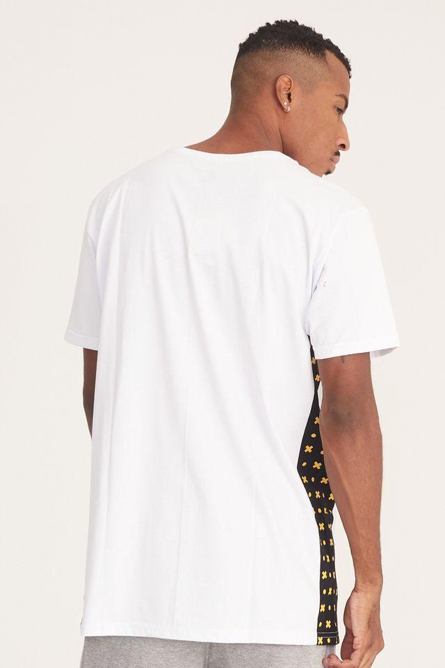 Camiseta-Starter-Especial-Collab-Gato-Felix-Branca