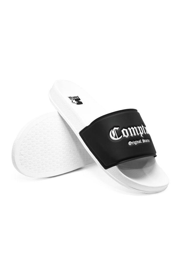 Chinelo-Starter-Slide-on-Compton-Preto-Com-Branco