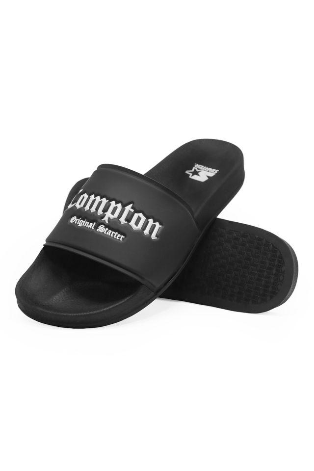 Chinelo-Starter-Slide-on-Compton-Preto