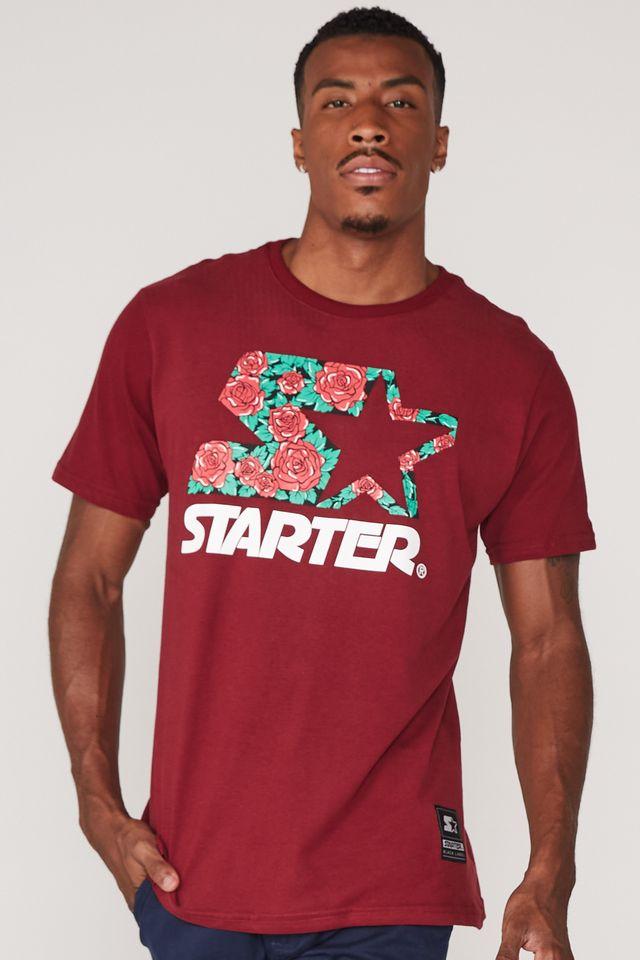 Camiseta-Starter-Estampada-Vinho