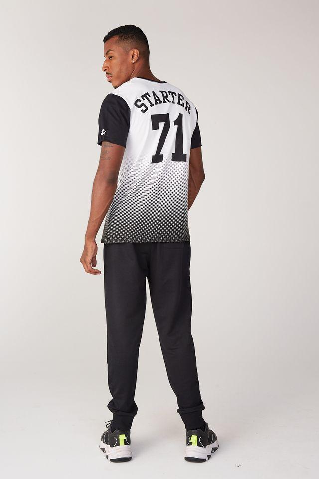 Camiseta-Starter-Estampada-Star71-Branca