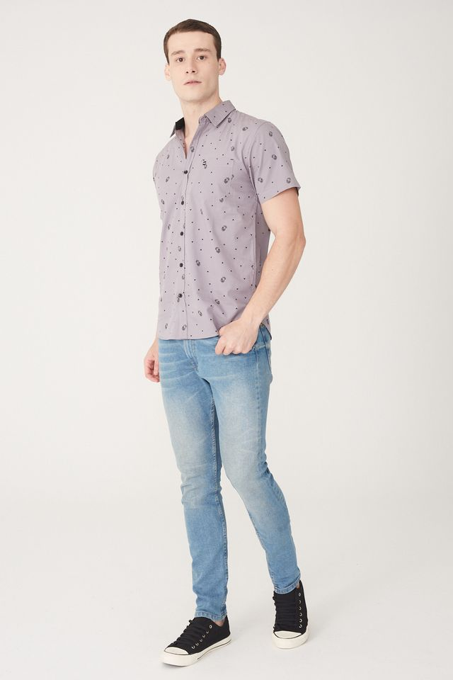 Camisa-HD-Manga-Curta-Cinza
