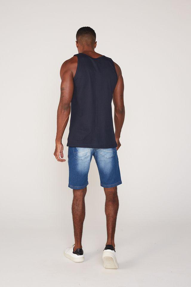 Bermuda-Ecko-Jeans-Slim-Confort-Azul