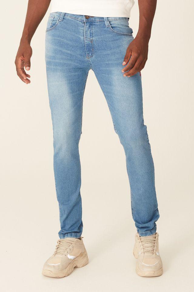 Calca-Jeans-Ecko-Slim-Confort-Azul