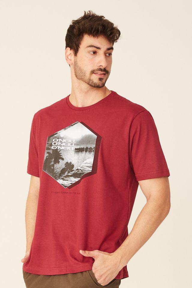 Camiseta-Oneill-Especial-Vinho
