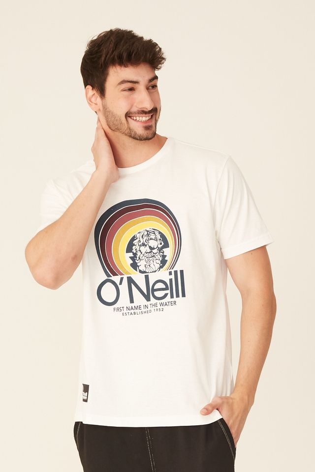 Camiseta-Oneill-Estampada-Off-White