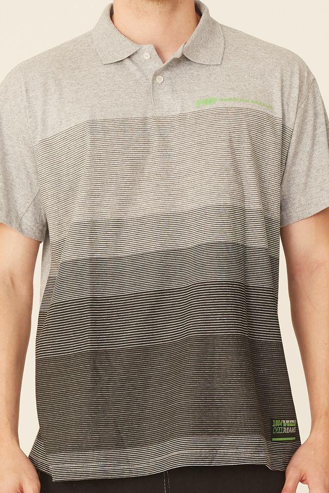 Camisa-Polo-HD-Plus-Size-Estampada-Cinza-Mescla