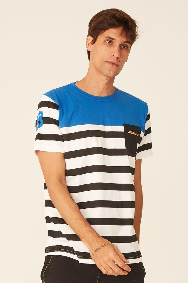 Camiseta-Onbongo-Especial-Listrada-Pocket-Azul