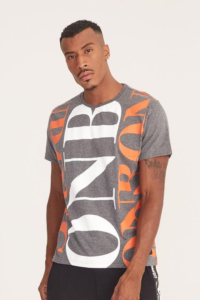 Camiseta-Onbongo-Estampada-Cinza-Escuro-Mescla