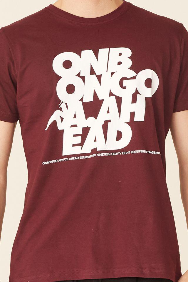 Camiseta-Onbongo-Estampada-Vinho