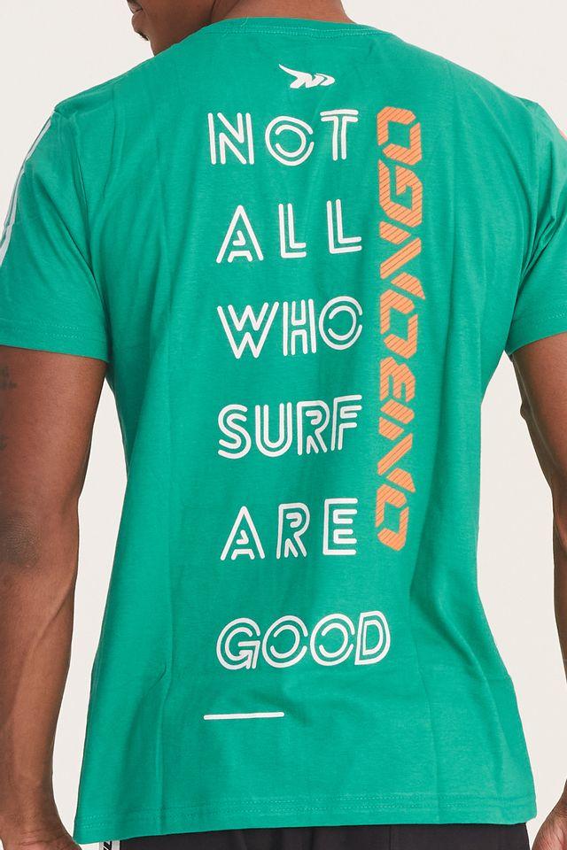 Camiseta-Onbongo-Estampada-Verde