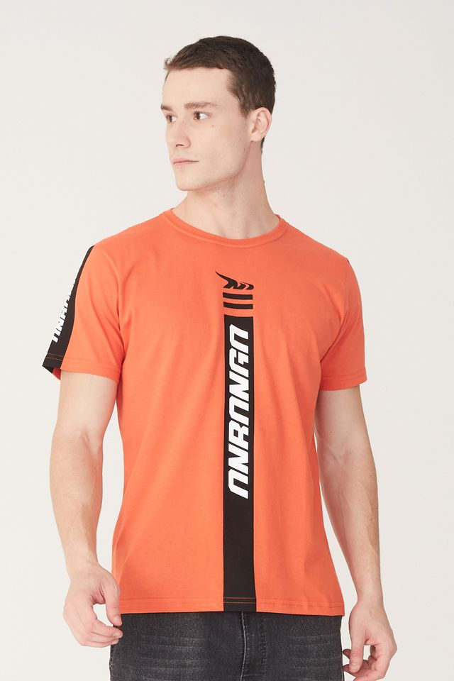 Camiseta-Onbongo-Estampada-Laranja