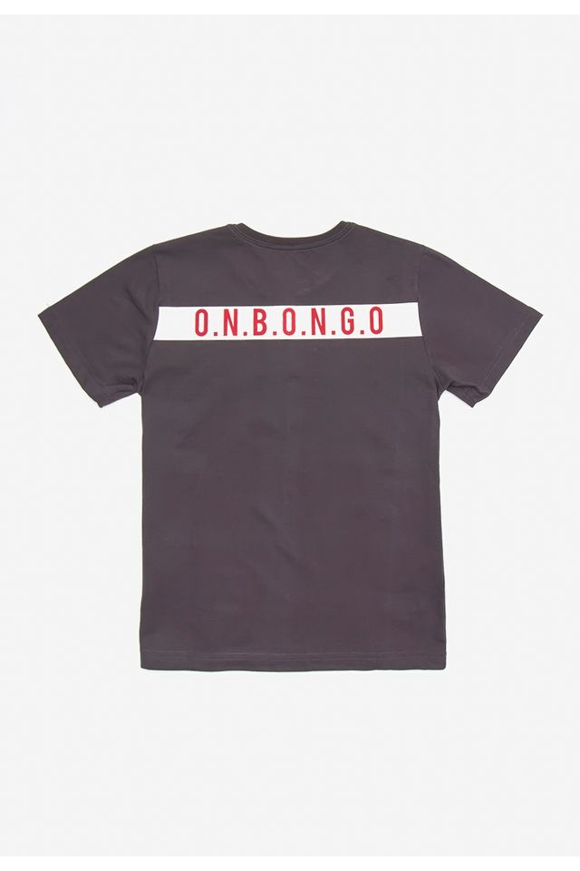 Camiseta-Onbongo-Juvenil-Estampada-Cinza-Escuro