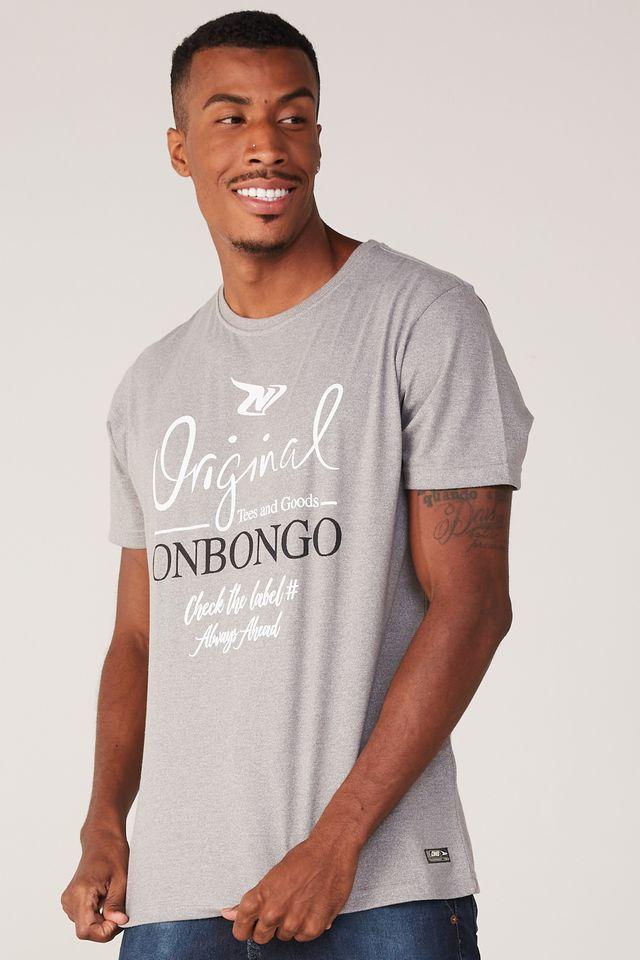 Camiseta-Onbongo-Especial-Cinza