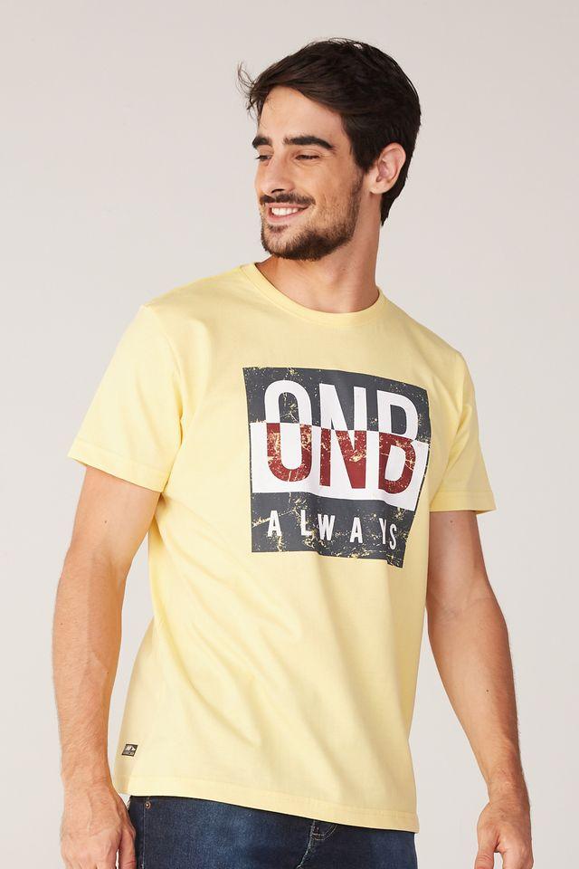 Camiseta-Onbongo-Estampada-Amarela
