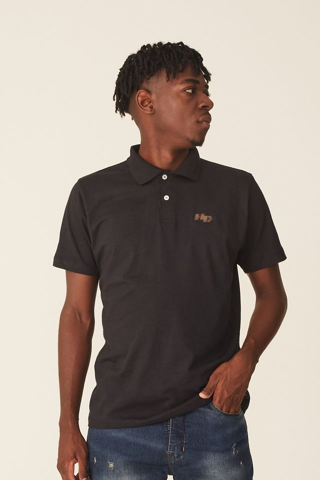 Camisa-Polo-HD-Estampada-Preta