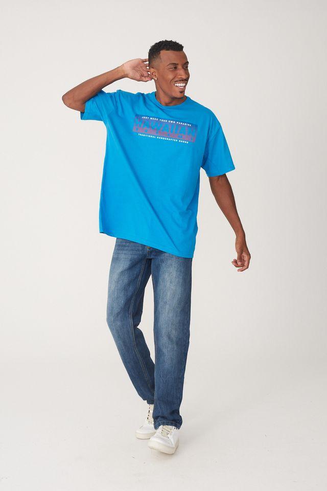 Camiseta-HD-Plus-Size-Estampada-Azul